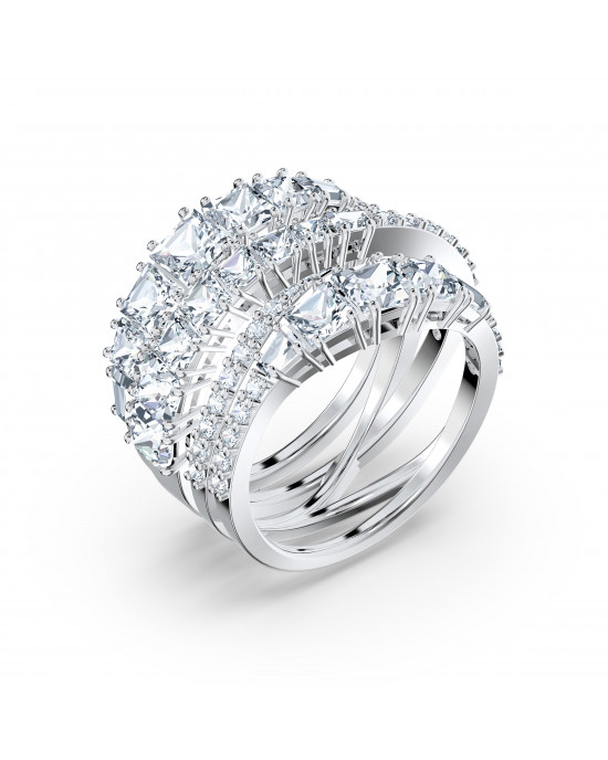TWIST:RING WRAP CZWH/RHS FULL PAVE 52-5584650